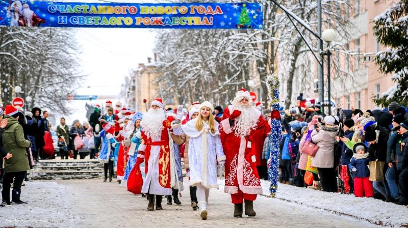 В Брянске выбрали лучшего Деда Мороза