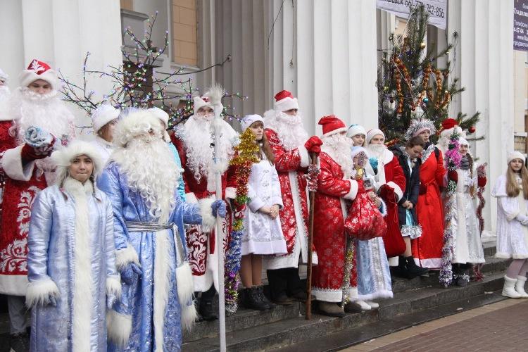 В Брянске пройдет парад Дедов Морозов и Снегурочек