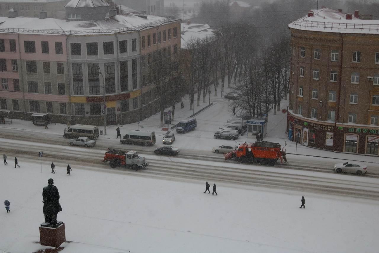 31 января в центре Брянска будут закрыты парковки