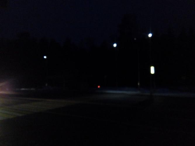 В Брянске после смертельного ДТП так и не решили вопрос с освещением