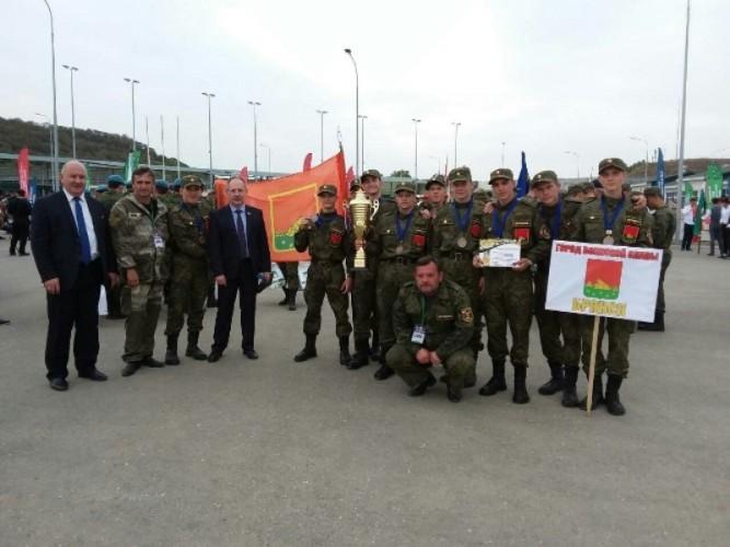 Брянские юноши заняли третье место в военно-патриотической игре
