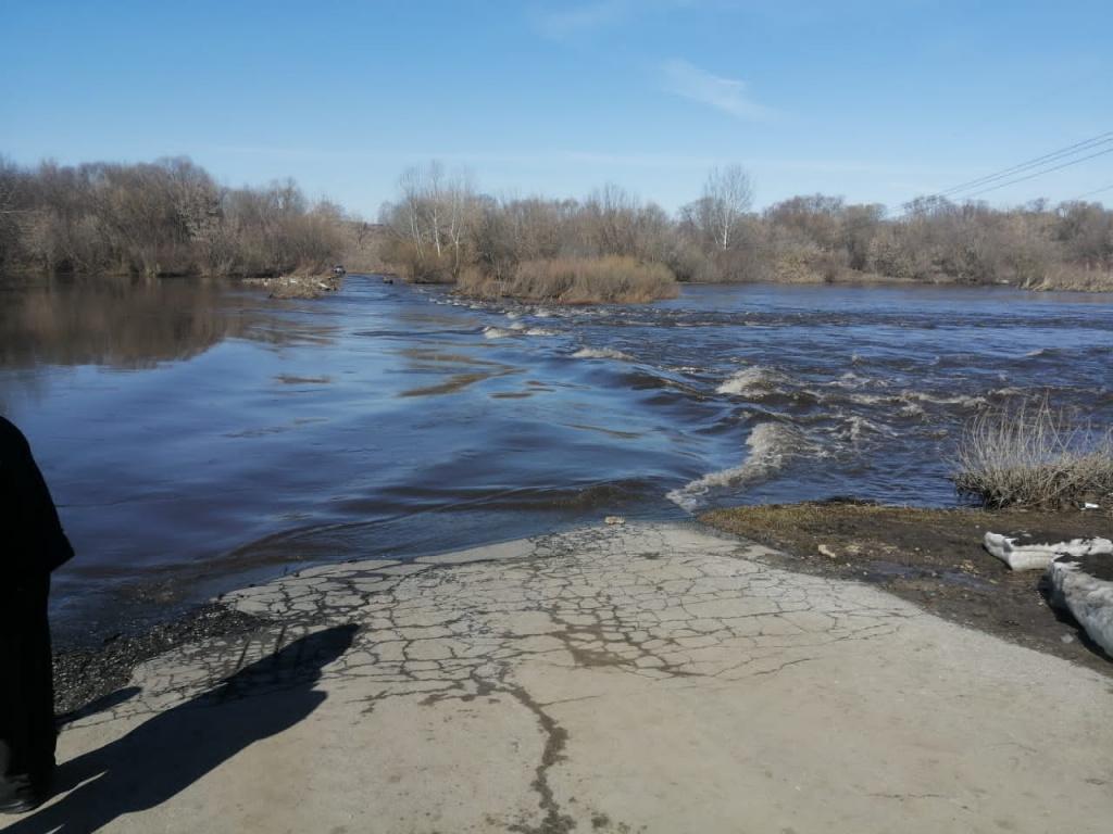 В брянских реках начинает повышаться уровень воды