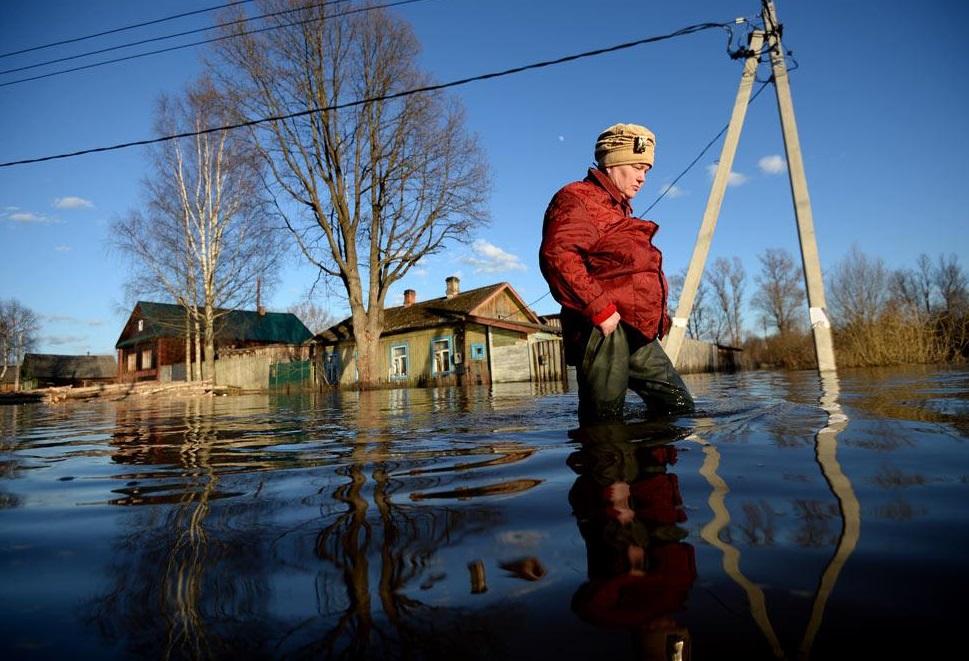 В девяти муниципалитетах Брянской области 26 зон вошли в группу риска из-за паводка