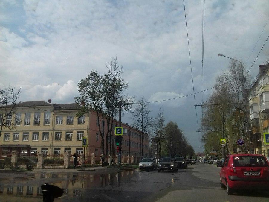 На улице Пушкина в Володарском районе построят 1 км ливневой канализации