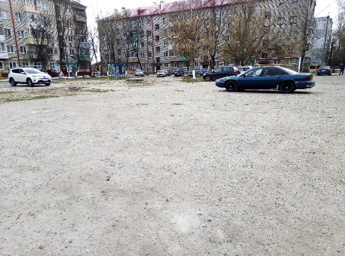 В Брянске автохамы отобрали у детей площадку