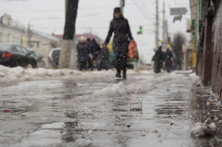 17 февраля в Брянске будет тепло и скользко