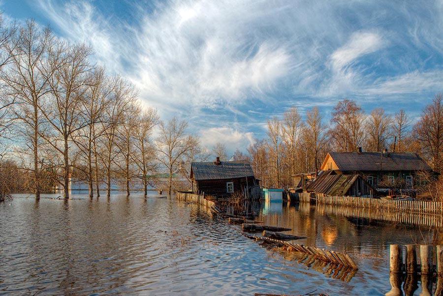 Пик весеннего половодья в Брянске ожидается с 6 по 10 апреля