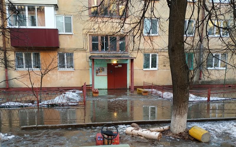 Жители Фокинского района Брянска 8 Марта остались без воды