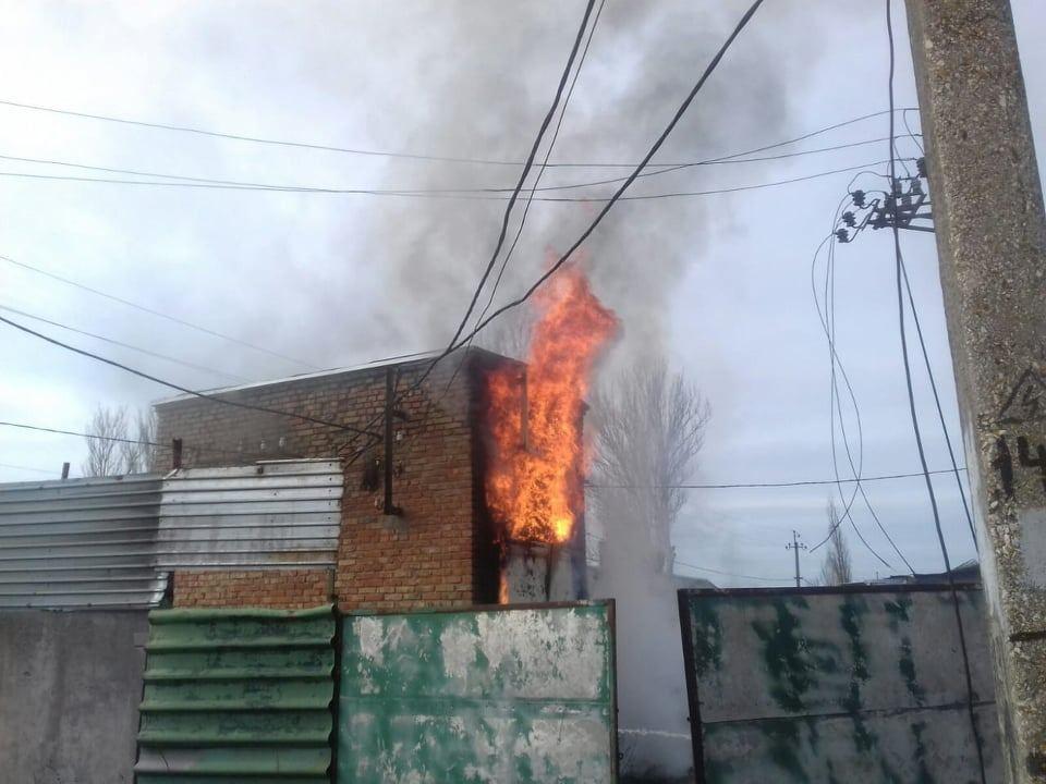 В Фокинском районе потушили крупный пожар в котельной