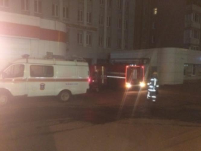В Брянске огонь охватил многоквартирный дом