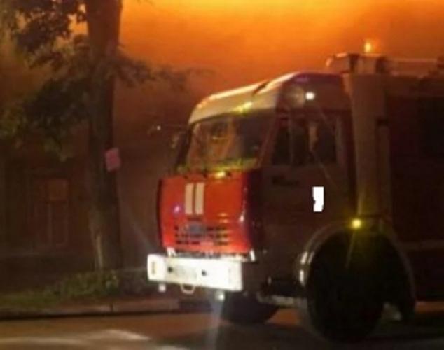 В Сураже сгорел жилой дом
