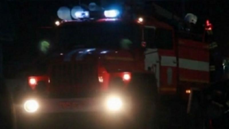 Сегодня ночью в Карачевском районе сгорел жилой дом
