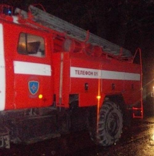 Ночью в Володарском районе сгорела легковушка