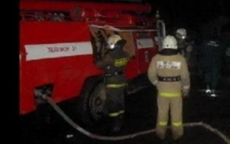В Карачеве сгорел грузовик