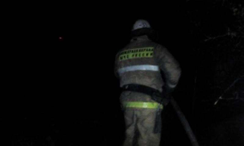В Почепском районе загорелось частное домовладение