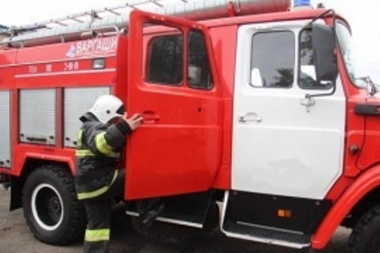 В Володарском районе Брянска сгорела легковушка