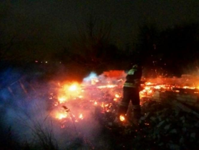 В Советском районе Брянска сгорел дачный дом