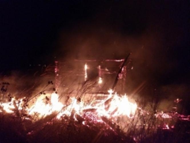 Ночью в Советском районе Брянска сгорела  дача