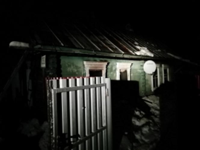 Ночью под Брянском сгорел жилой дом