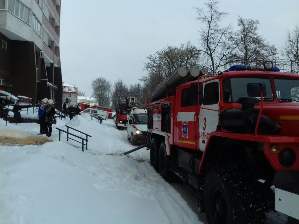 В новогоднюю ночь случилось 13 пожаров в Брянской области
