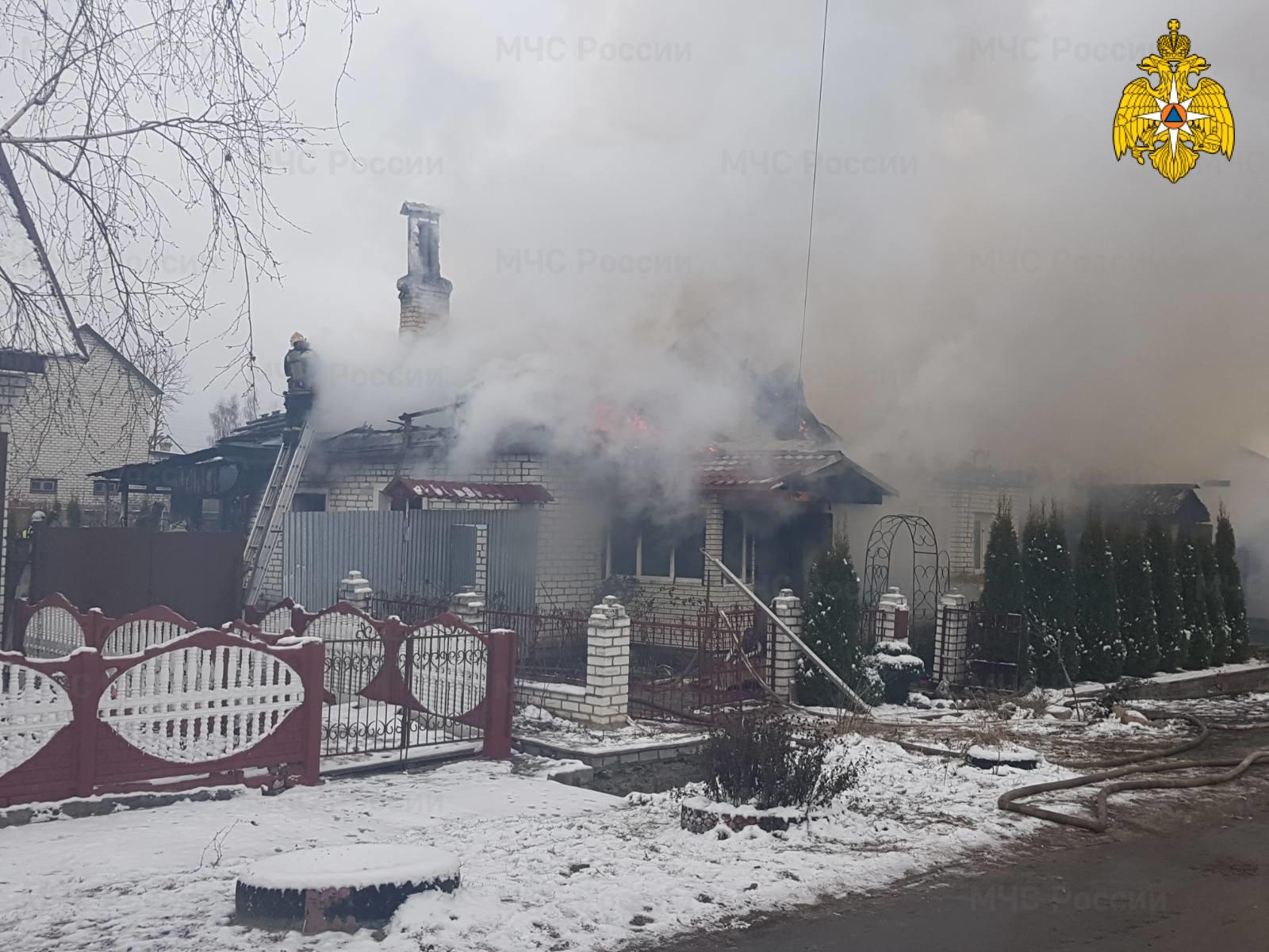 В Брянской области за сутки произошло 4 пожара