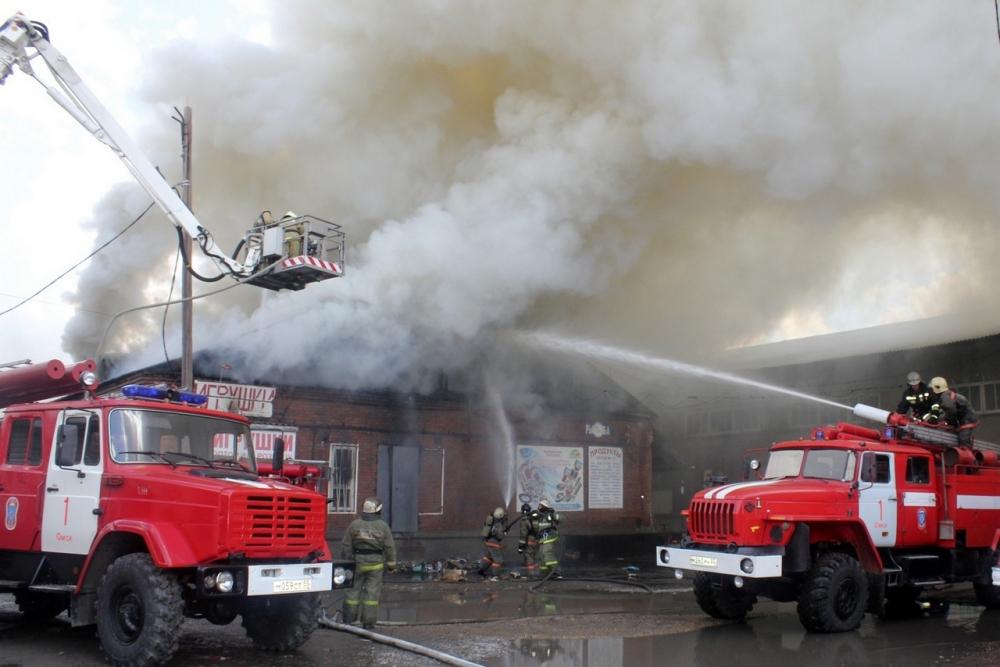 В Брянске за минувшие сутки спасатели 29 раз тушили пожары