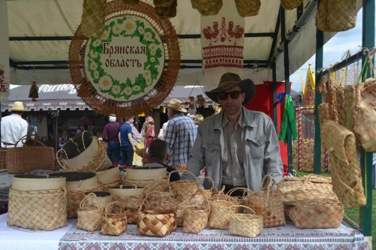 В Дятьковском районе прошел фольклорный праздник