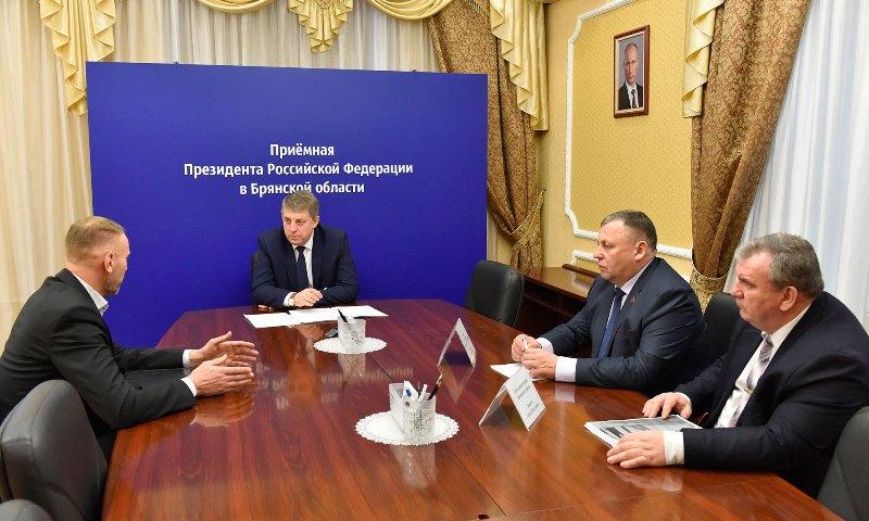 Губернатор Брянской области провел личный прием граждан