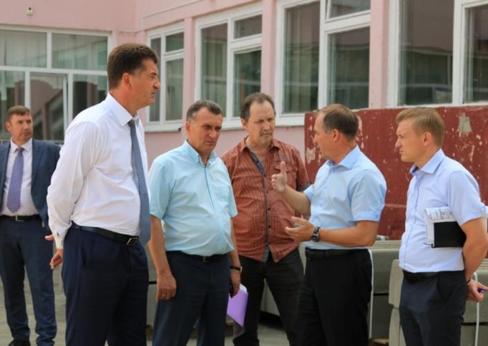 Строительство пристройки к брянской школе №59 идет быстрыми темпами