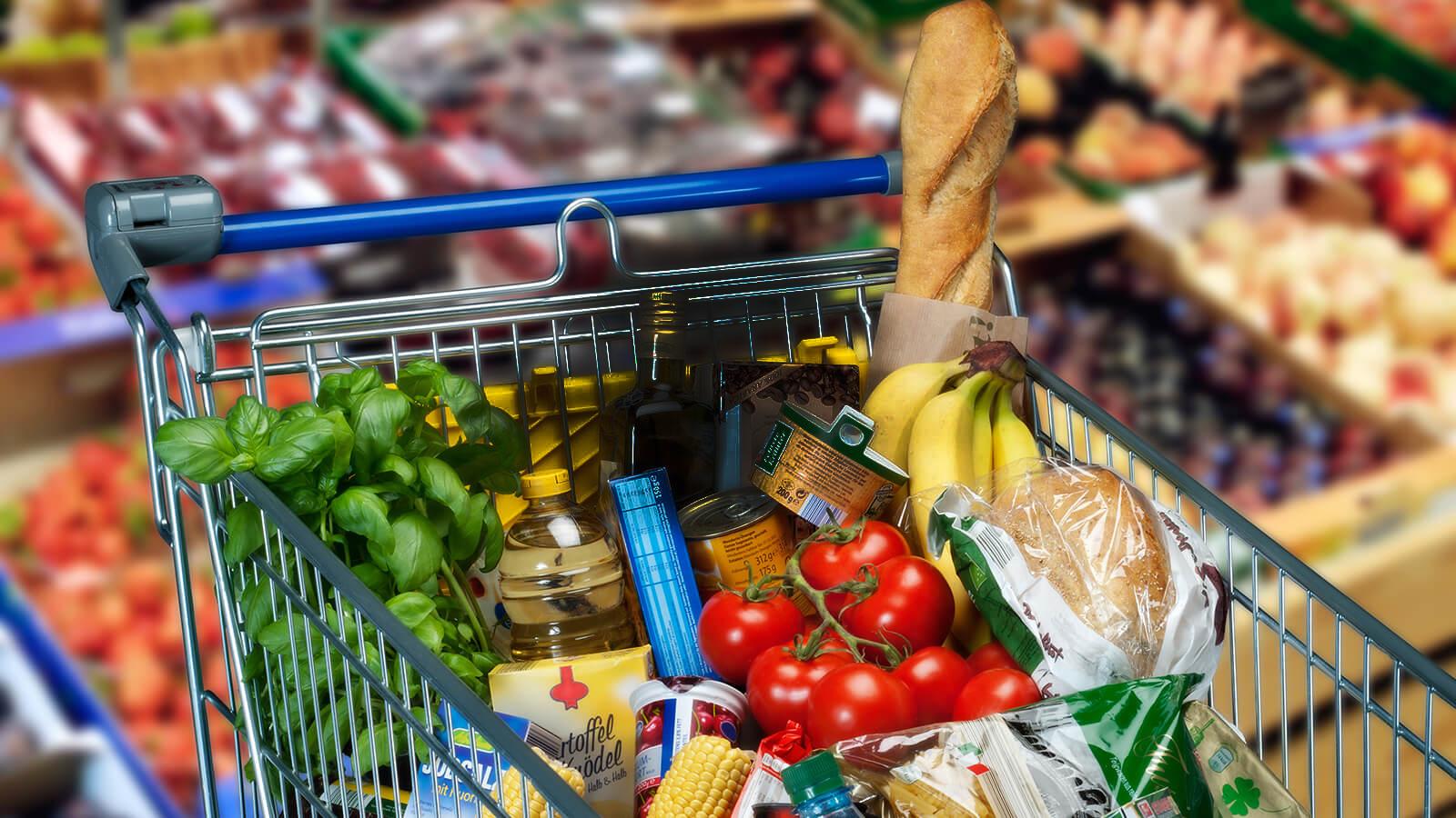 В Брянской области продуктовая корзина стоит 4 тысячи 234 рубля