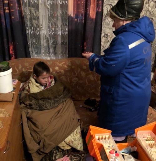В Брянске спасли замерзшего 11-летнего ребенка