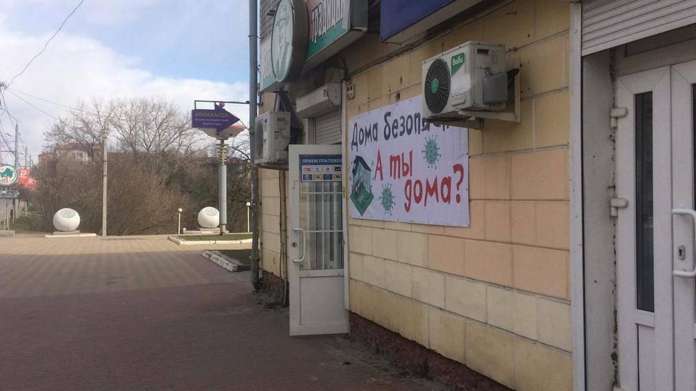 В Брянске вывешивают призывающие к самоизоляции плакаты