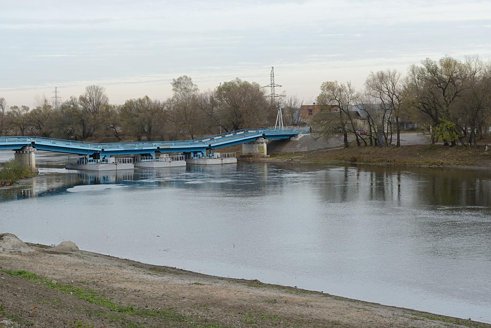 В Советском районе Брянска из-за паводка закроют понтонный мост