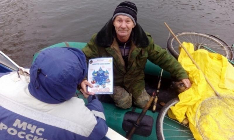 Брянским любителям рыбалки рассказали, как нужно вести себя на воде