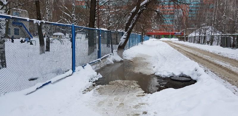 Брянский детский сад утонул в канализации