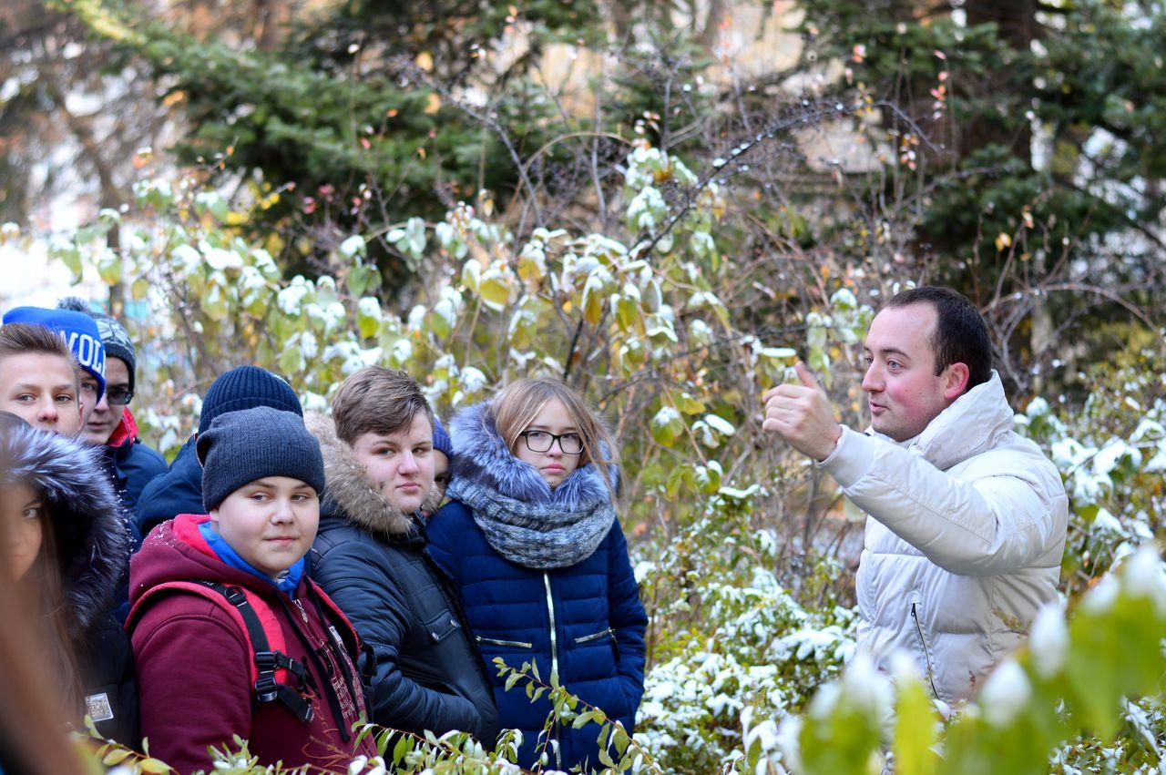 Ботанический сад Брянска показали на Первом канале