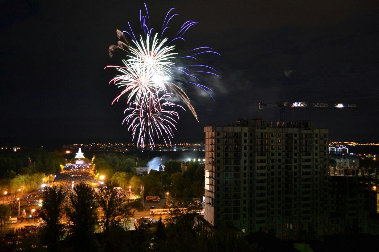 В Брянске запускать фейерверки разрешили на четырех площадках