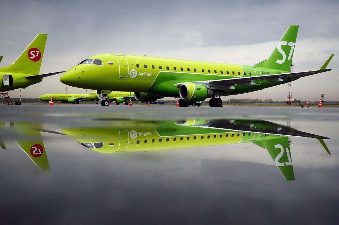 Авиакомпания S7 с 5 февраля начнёт выполнять рейсы из Брянска в Москву