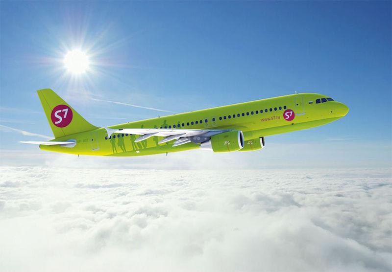 Авиакомпания S7 начала выполнять регулярные рейсы из Брянска в Москву