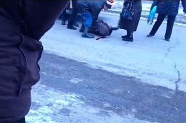 В Навле водитель покалечил женщину и скрылся