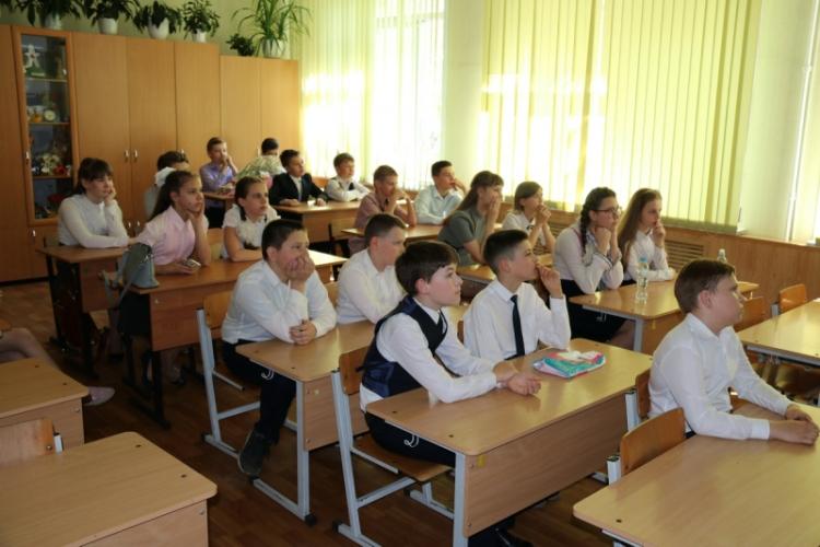 В Клинцовских школах прошел открытый урок ОБЖ