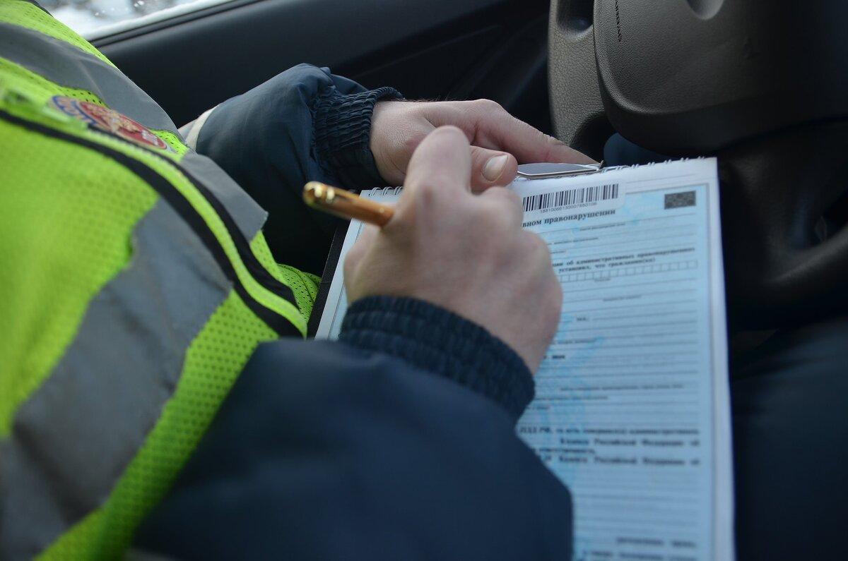 В Брянске автохама на «Тойоте» наказали по записи видеорегистратора