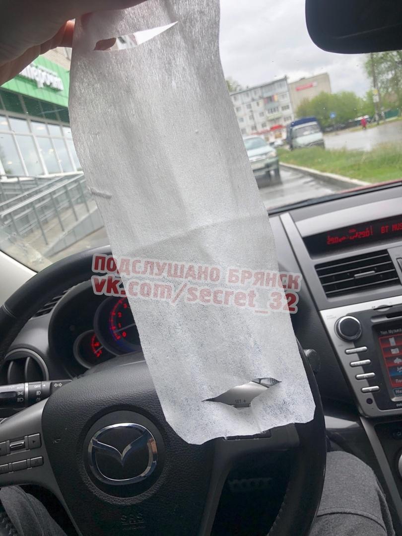 Брянцев привели в ужас защитные маски из туалетной бумаги