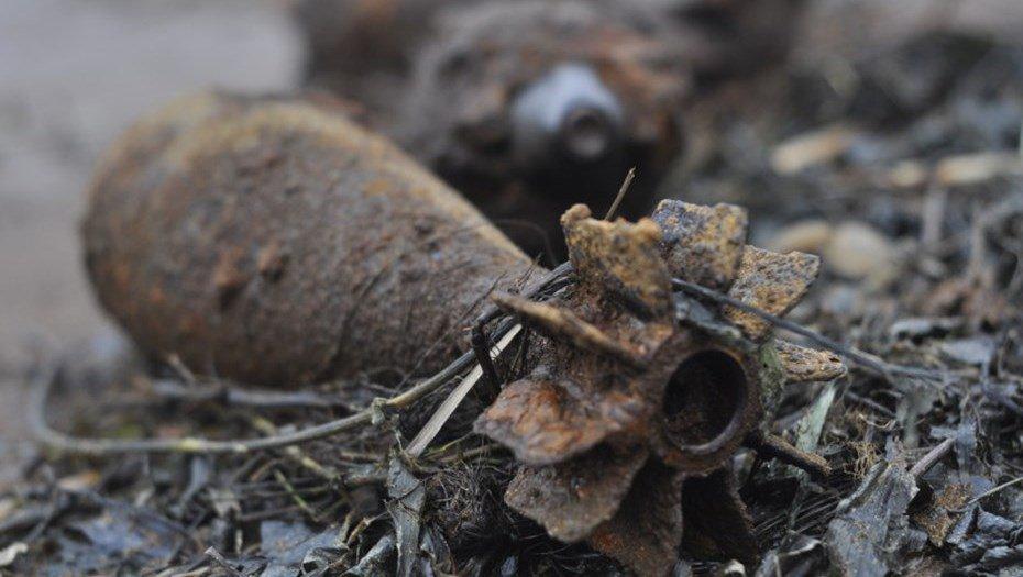 В Севском районе уничтожили два снаряда времен войны