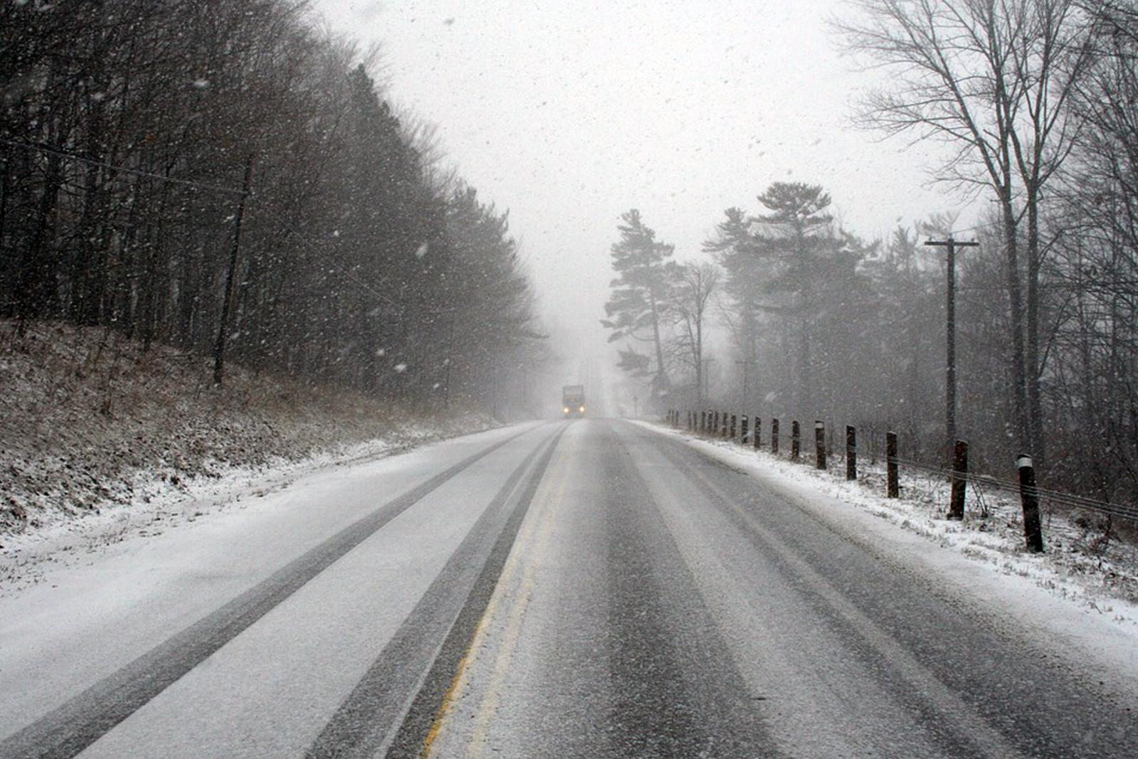 В Брянской области 8 апреля прогнозируют дождь, мокрый снег и ветер