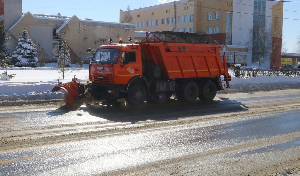 С брянских улиц вывезли за три дня больше 3 тонн снега