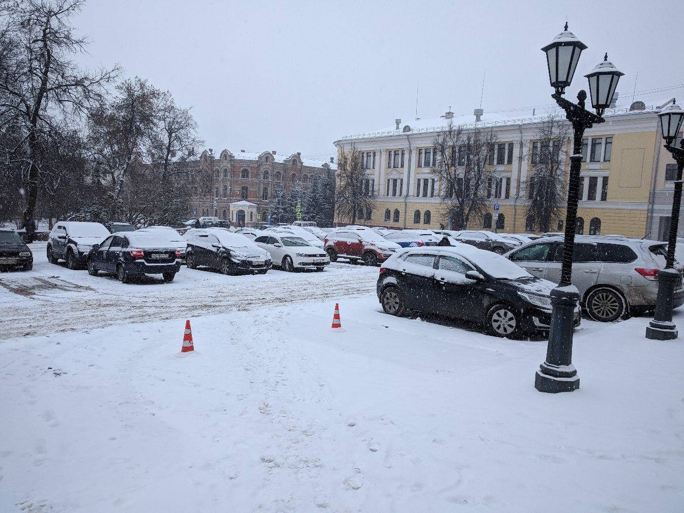 22 января на территории Брянской области ожидается сильный снег и гололед