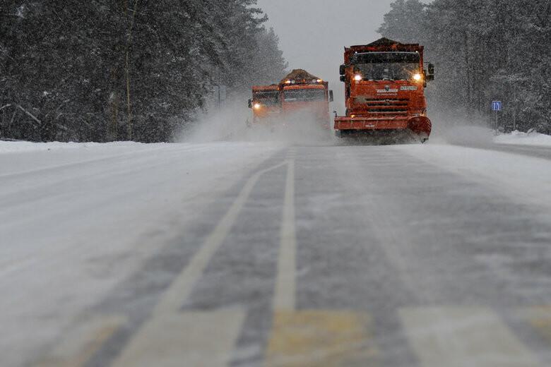 Брянцев попросили из-за снегопада 13 марта отказаться от поездок на личном транспорте