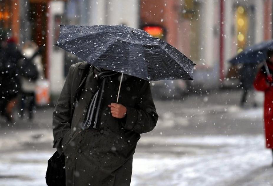В Брянской области завтра ожидаются мокрый снег и дождь