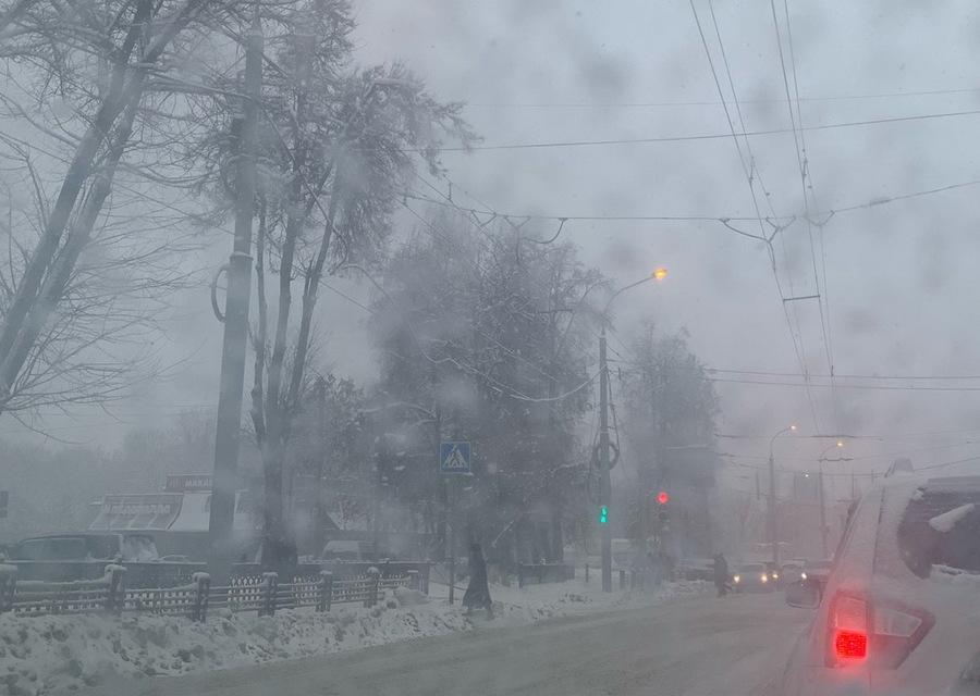 В Брянской области в последний день января прогнозируют сильный снег